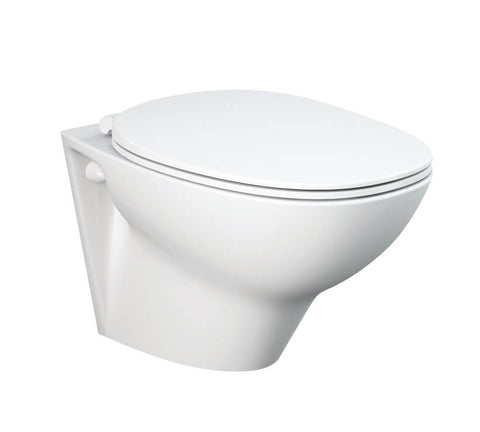 Wall Hung WC - Morning wall hung WC inc. soft close seat - The Contemporary Collection