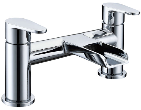 Bath Filler - Ballini bath filler MP - Aquaflow Brassware Collection