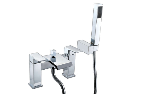 Bath Shower Mixer - Estrada bath shower mixer MP - Aquaflow Italia Brassware Collection