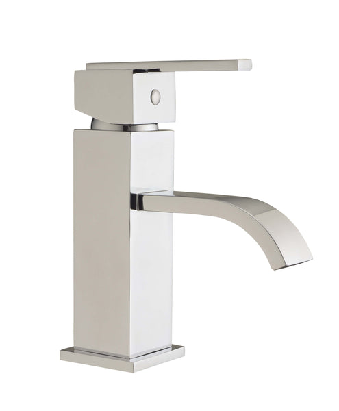 Basin Mono - Blok basin mono with click-clack waste MP - Aquaflow Brassware Collection