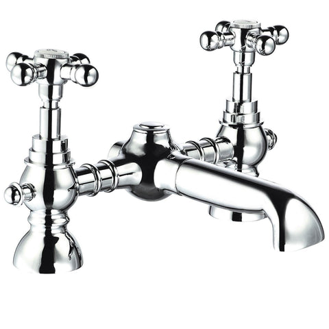 Bath Filler - Edwardian bath filler MP - Holborn Brassware Collection