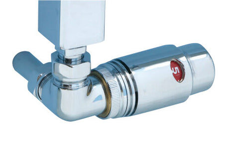 Radiator Valves - Corner thermostatic radiator valve - Towel Rails