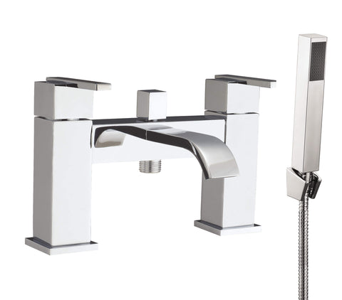 Bath Shower Mixer - Blok bath shower mixer MP - Aquaflow Brassware Collection