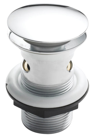 Basin Waste - Easy clean sprung plug basin waste in Chrome - Accessories