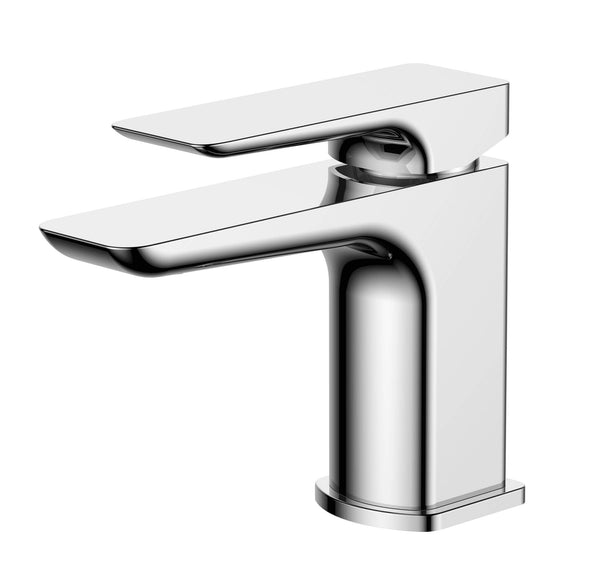 Basin Mono - Sabre Chrome basin mono with click-clack waste MP - Aquaflow Edition Brassware Collection