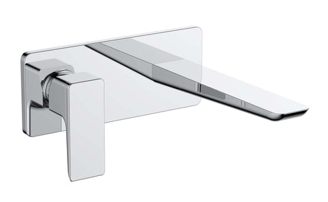 Basin Mono - Sabre wall-mounted basin mono (without waste) MP - Aquaflow Edition Brassware Collection