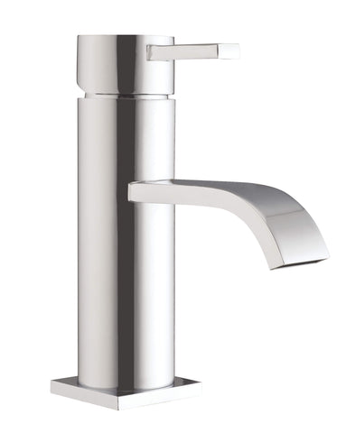 Basin Mono - Gemini basin mono with click-clack waste MP - Aquaflow Brassware Collection