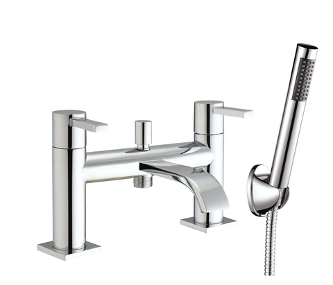 Bath Shower Mixer - Gemini bath shower mixer HP1 - Aquaflow Brassware Collection