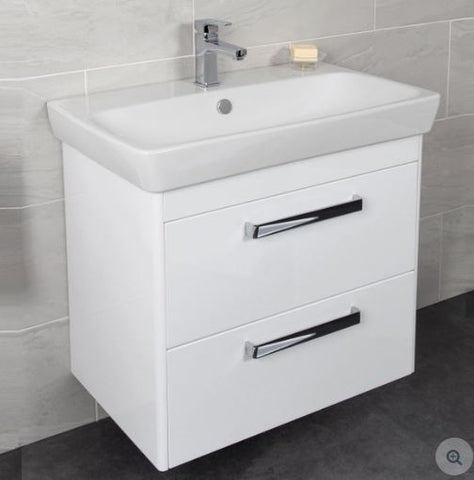 Vitra M Line Basin Unit With 2 Drawers