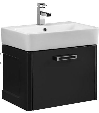 Q60 One Drawer Wall Mounted Unit Basin, tv