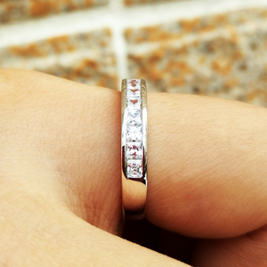 MAGICAL DECEMBER STERLING SILVER BAND