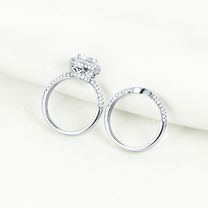 TOUCHE DE LUXE STERLING SILVER RING SET