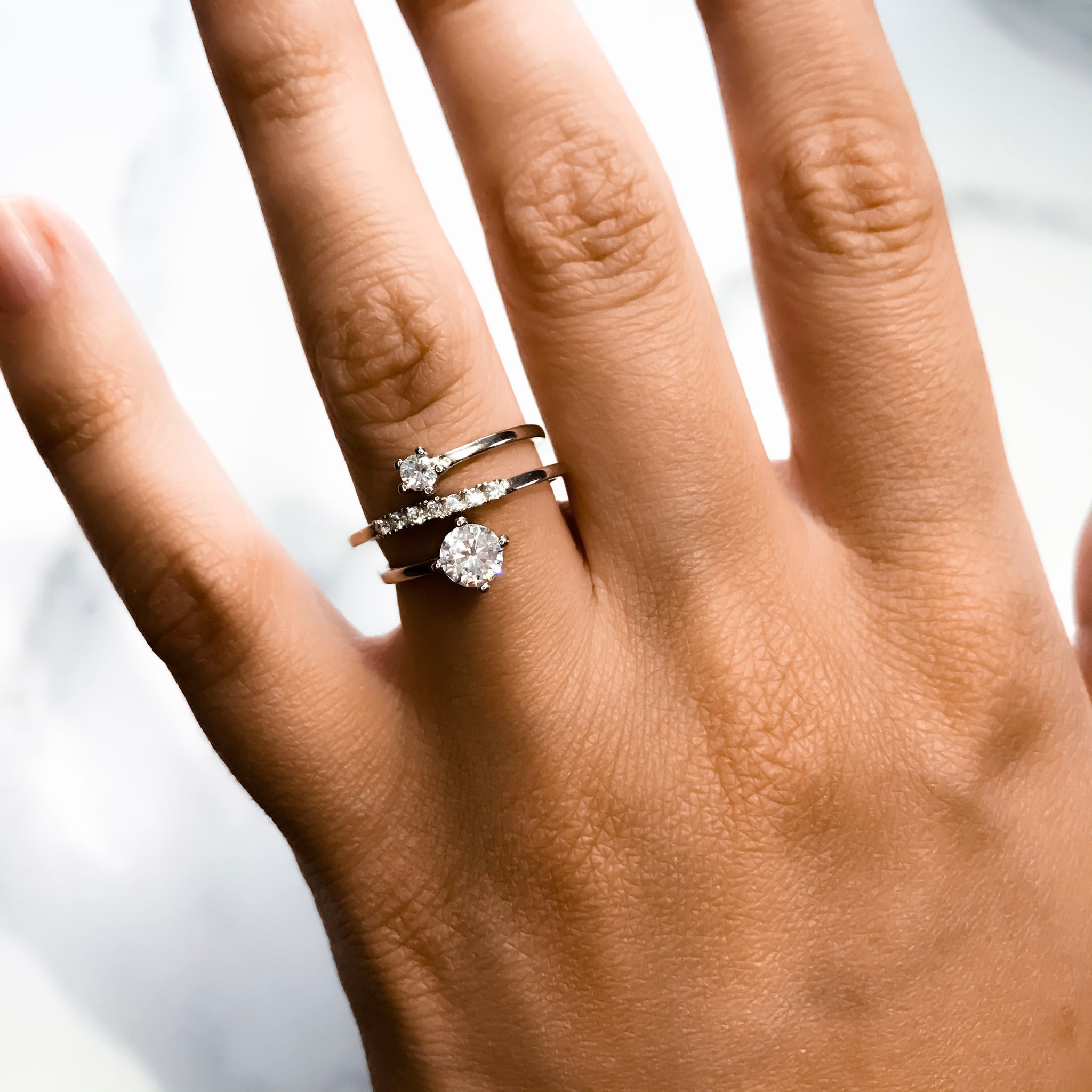 Nicolette Adjustable Sterling Silver Ring
