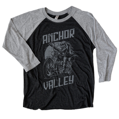 Anchor Valley Rider Unisex Raglan