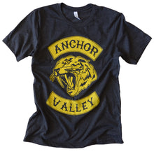 Load image into Gallery viewer, Anchor Valley Tiger Tee - Yellow Ink