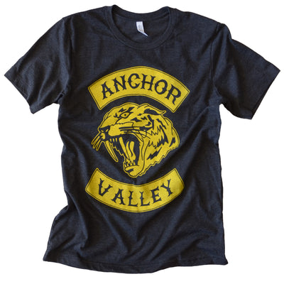 Anchor Valley Tiger Tee - Yellow Ink