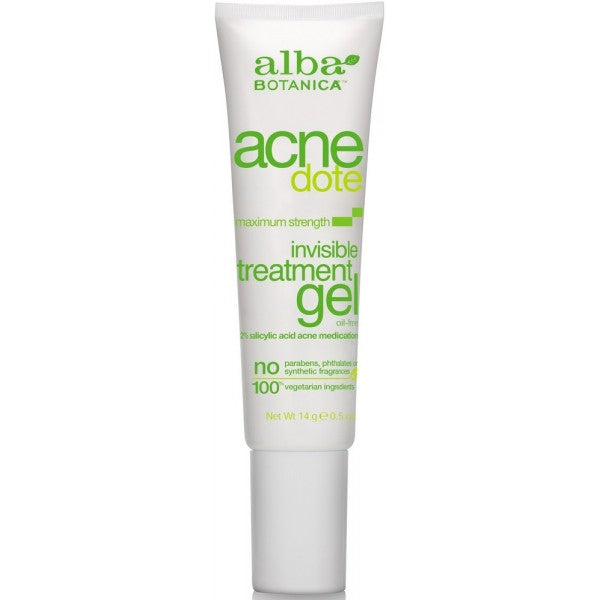 Alba Botanica Acne Invisible Treatment Gel  - 14g