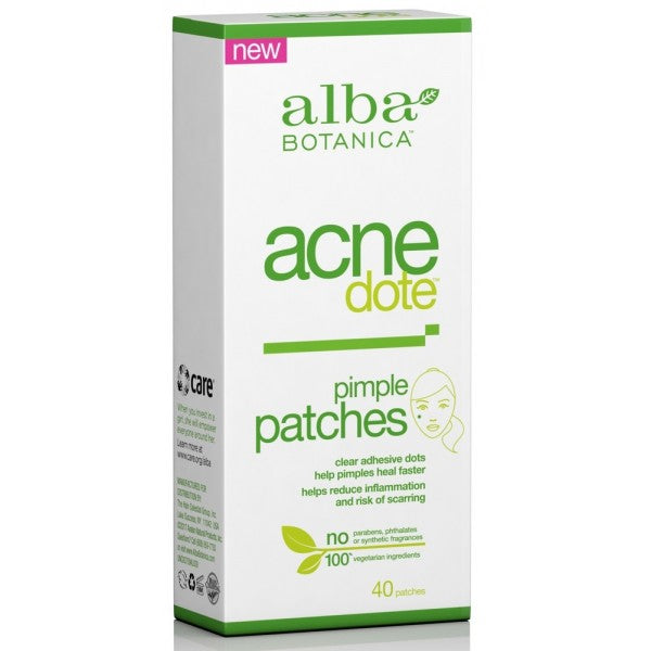 Alba Botanica Acne Pimple Patches - 40 patches
