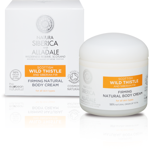 Natura Siberica Alladay Firming Natural Body Cream - 370mls