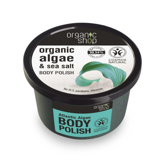 Organic Shop Atlantic Algae Natural Body Polish - 250ml