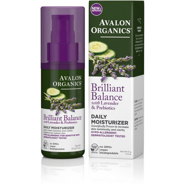 Avalon Brilliant Balance Daily Moisturiser 57g