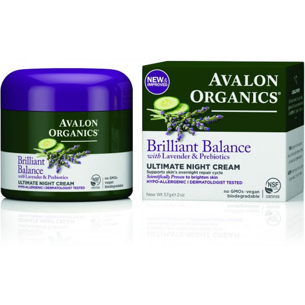 Avalon Brilliant Balance Ultimate Night Cream 57g