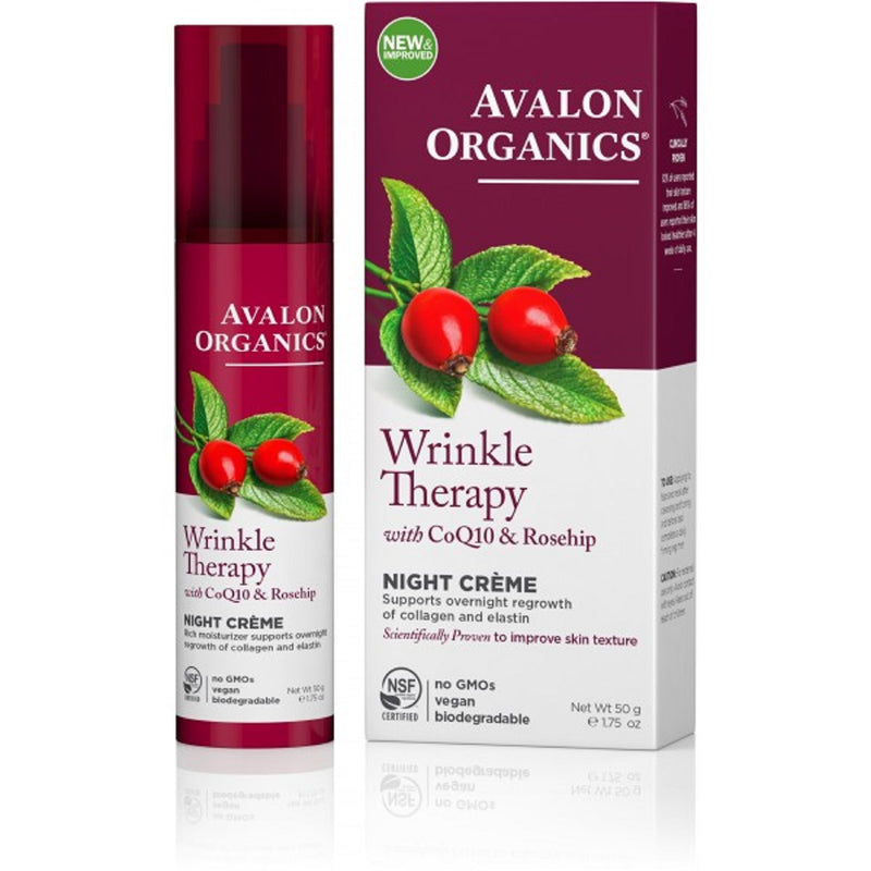 Avalon Wrinkle Therapy Night Crème 50g