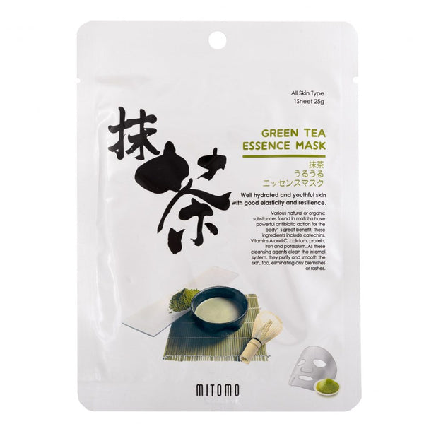Mitomo Bamboo Green Tea Essence Mask