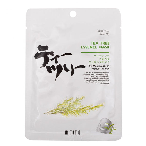 Mitomo Bamboo Tea Tree Essence Mask
