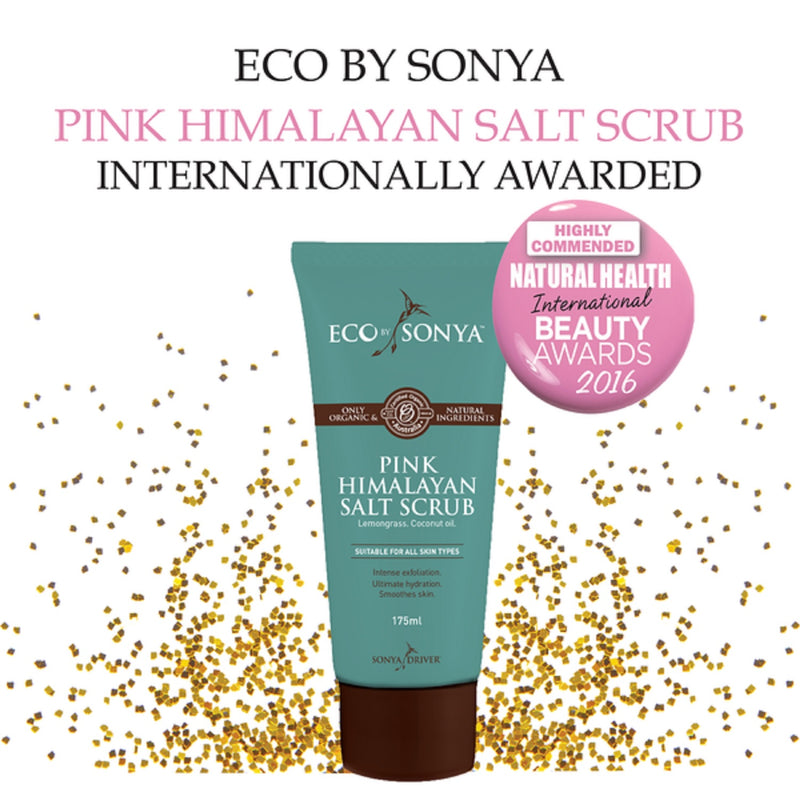 Eco by Sonya Pink Himalayan Salt Scrub 250ml