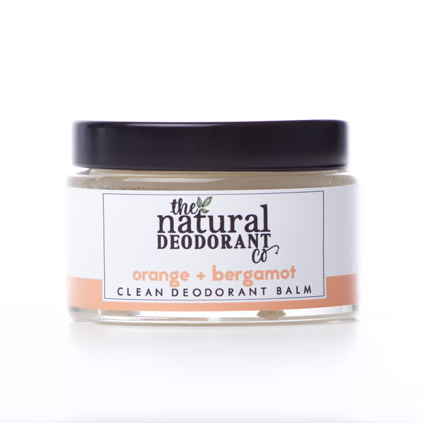 Natural Deodorant Co Clean Deodorant Balm Orange + Bergamot - 55g