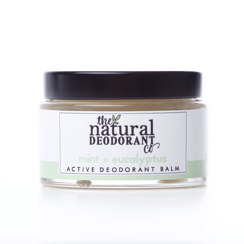 Natural Deodorant Co Active Deodorant Balm Mint + Eucalyptus - 55g