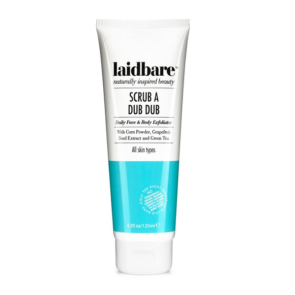 Laid Bare Scrub a Dub Dub - Face & Body Scrub 125ml