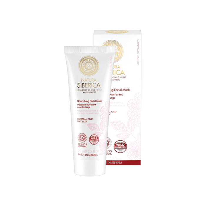 Natura Siberica Nourishing Face Mask - 75ml