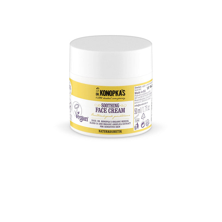 Dr Konopka Soothing Natural Face Cream - 50ml