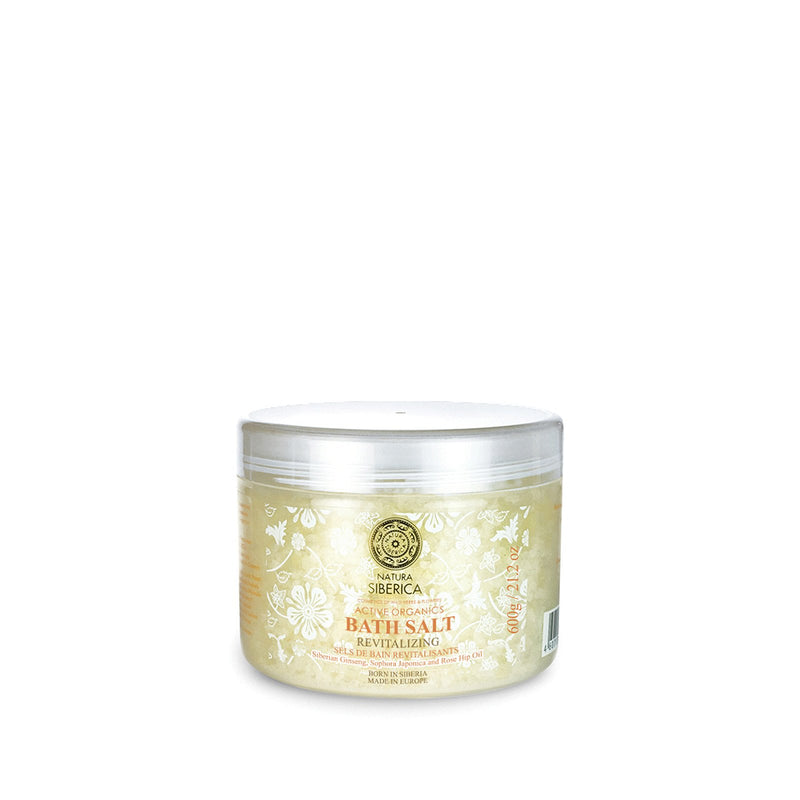 Natura Siberica Revitalizing Bath Salts, 600 g