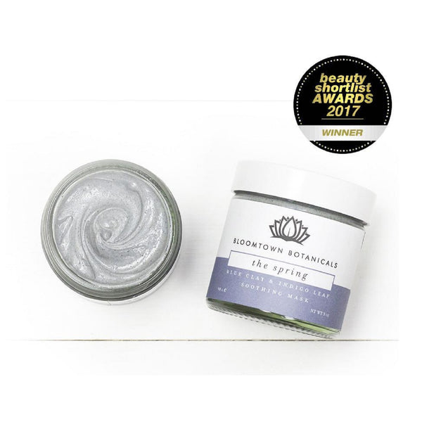 Bloomtown Botanicals Blue Clay & Indigo Leaf Soothing Mask 90g