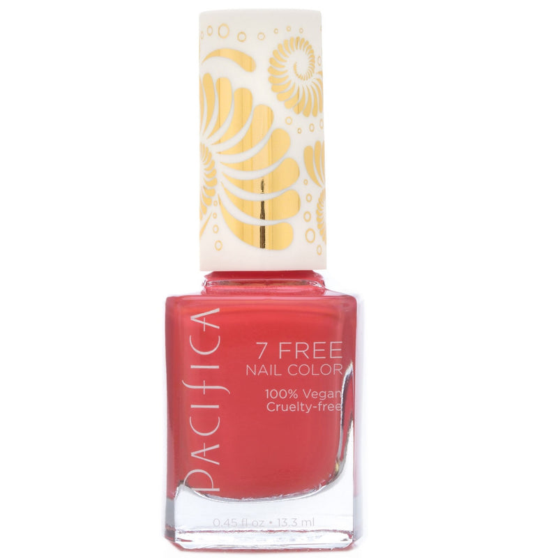 Pacifica 7 Free Nail Polish - Totally Coral 13.3ml