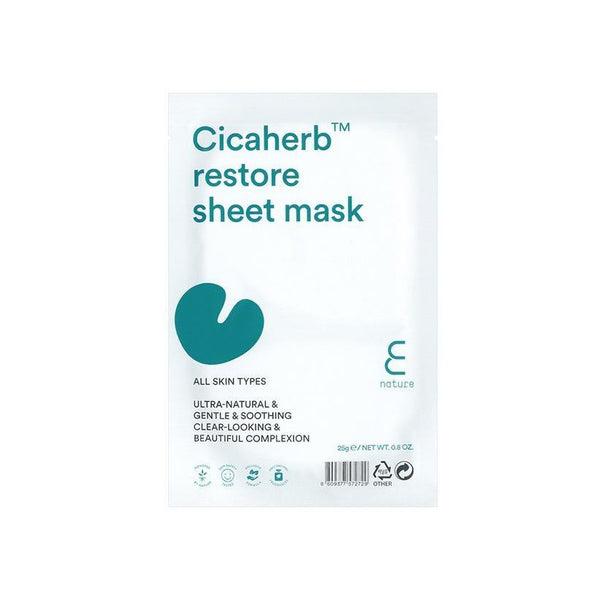 E Nature Cicaherb Restore Sheet Mask (1 pc)