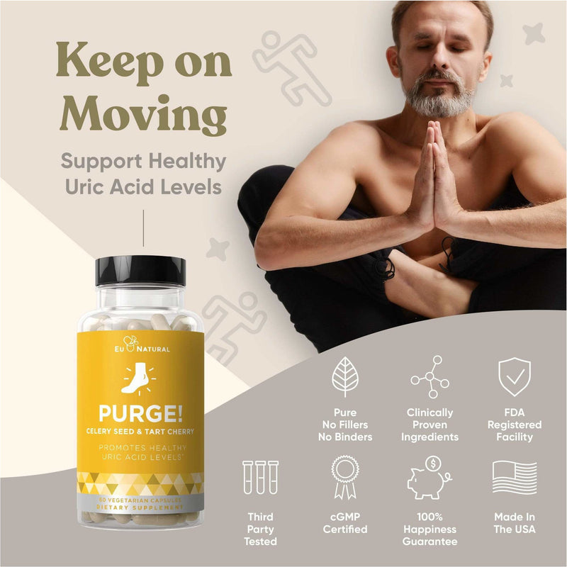 EU Natural - PURGE! Uric Acid Cleanse & Joint Health