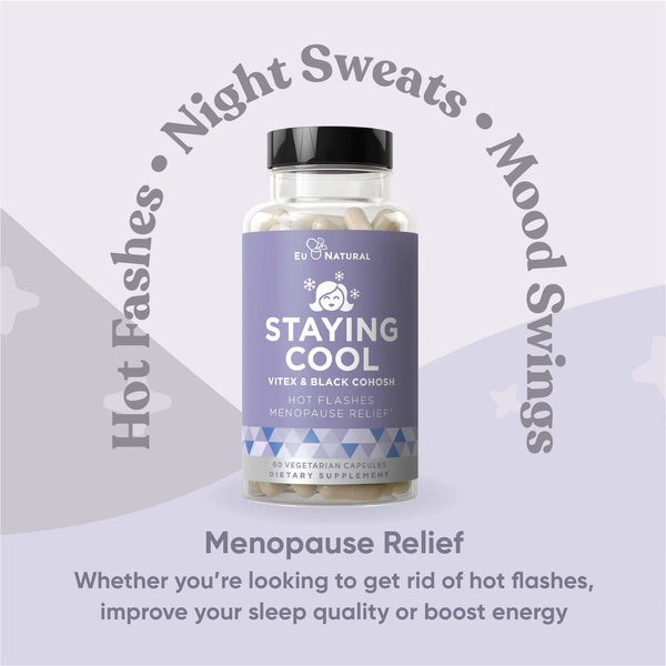 EU Natural - STAYING COOL Hot Flashes & Menopause Relief
