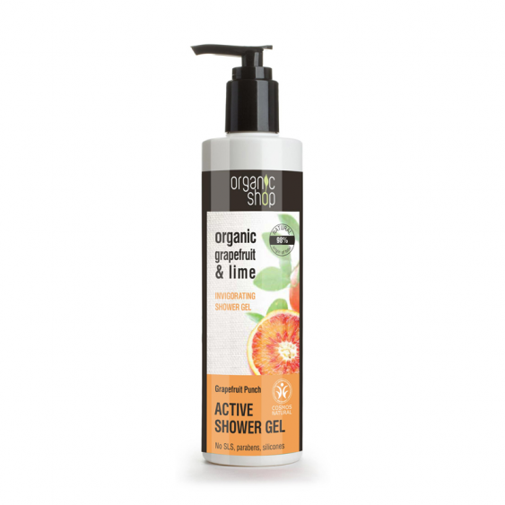 Organic Shop Grapefruit Punch Active Shower Gel - 250ml