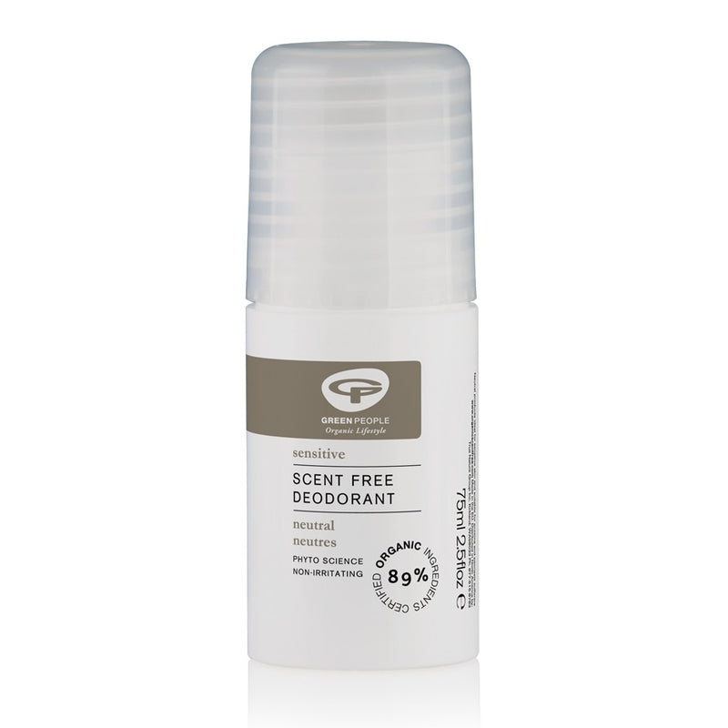 Green People Neutral Scent Free Deodorant 75ml NFCC Organic