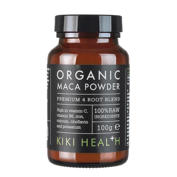 Kiki Health MACA Premium 4 Root Blend Powder, Organic – 100g