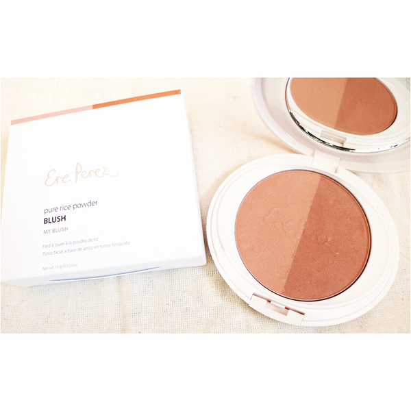 Ere Perez Rice Powder Blush & Bronzer - My Blush 15g