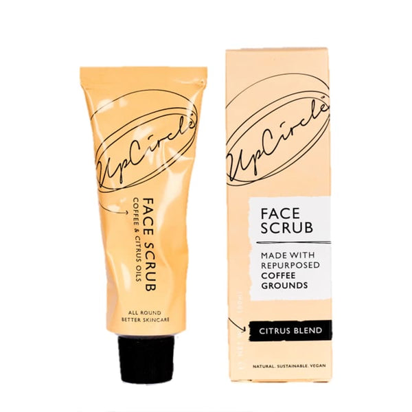 UpCircle Coffee Face Scrub Citrus Blend 100ml