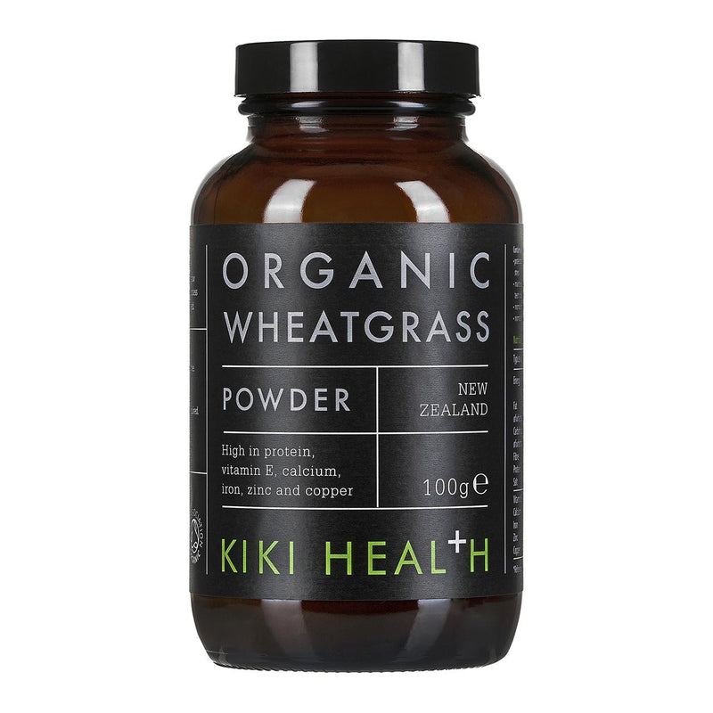 Kiki Health WHEATGRASS POWDER, Organic – 100g