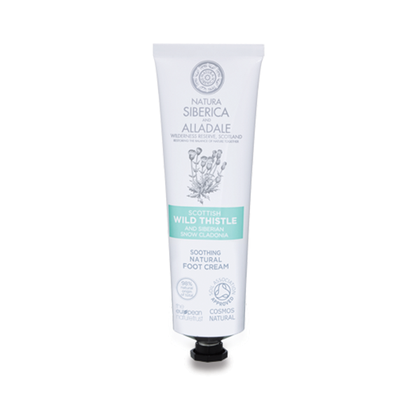 Natura Siberica Alladale Soothing Natural Foot Cream 75ml