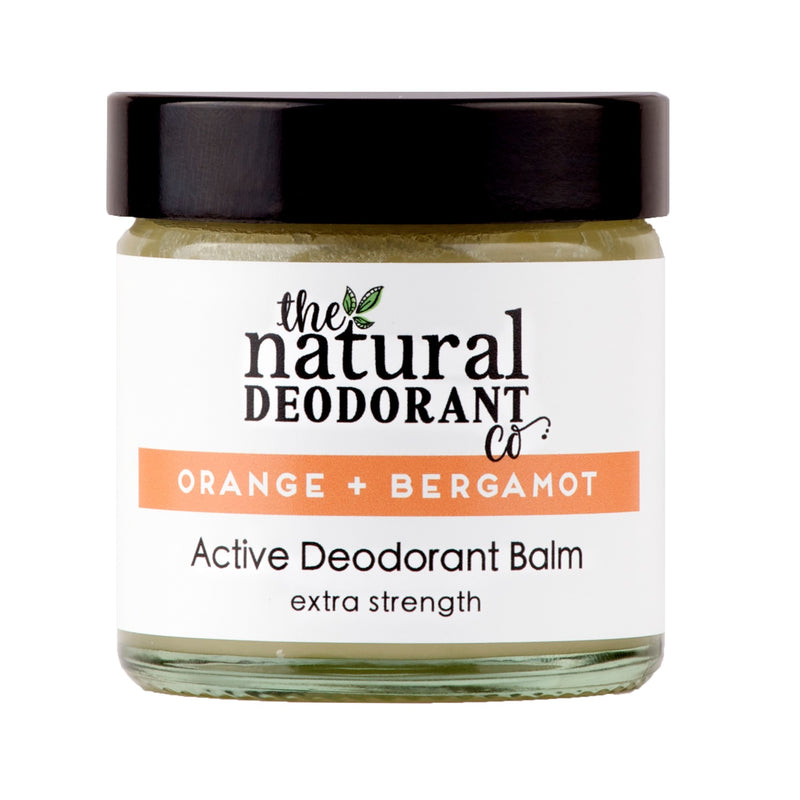 Natural Deodorant Co Active Deodorant Balm Orange + Bergamot - 55g