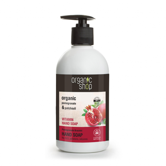 Organic Shop Pomegranate Bracelet Vitamin Hand Soap - 500ml